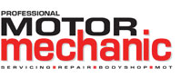 Professional Motor Mechanic Logo